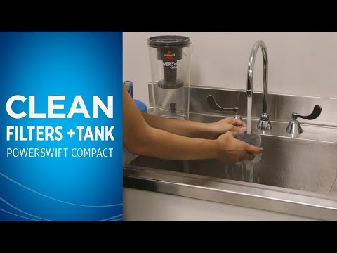 How to Clean the Filters and Dirt Tank on your PowerSwift™ Compact
