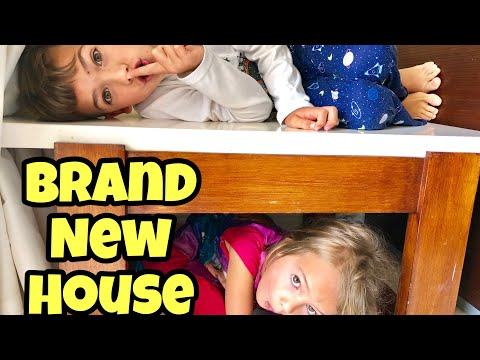 SARDINES IN AN EMPTY NEW HOUSE! Family Hide & Seek