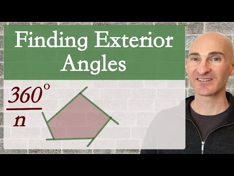 Finding an Exterior Angle in a Polygon