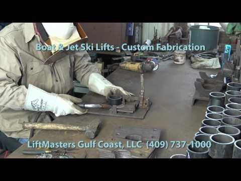 Boat Lift Fabrication And Sales Installation Galveston Texas