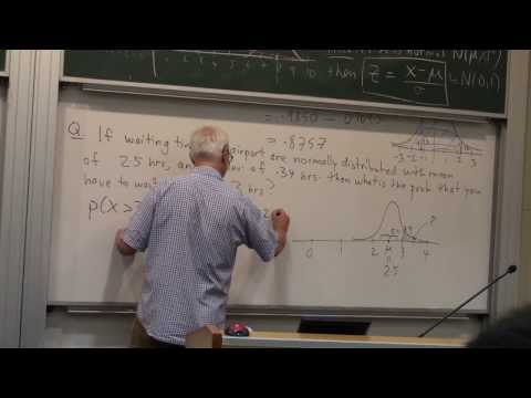 The normal distribution | Probability and Statistics | NJ Wildberger