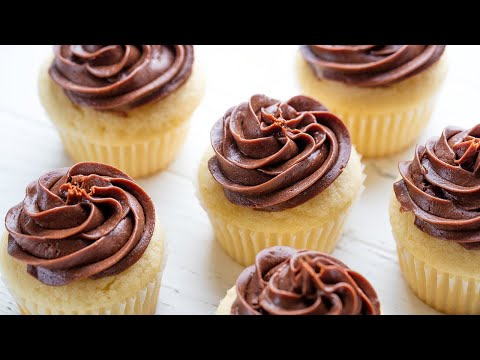How to Make The Most Amazing Vanilla Cupcakes | The Stay At Home Chef