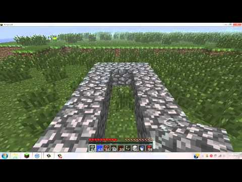 how to make a simple TNT cannon for minecraft