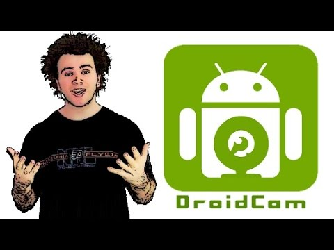 Use your Android smartphone as a webcam