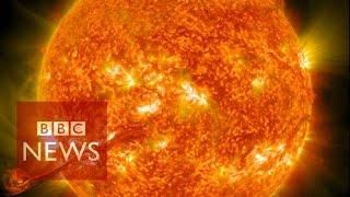Nasa captures incredible 4k images of the Sun - BBC News