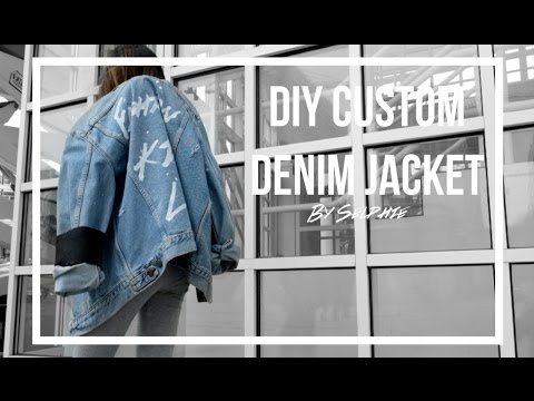 DIY Custom Denim Jacket