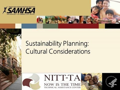 Sustainability Planning: Cultural Considerations