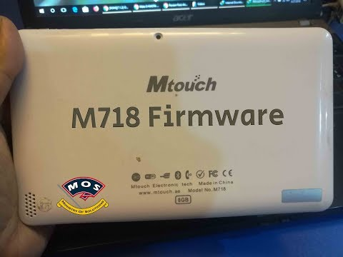 [FIXED] Mtouch M718 Hang on Logo
