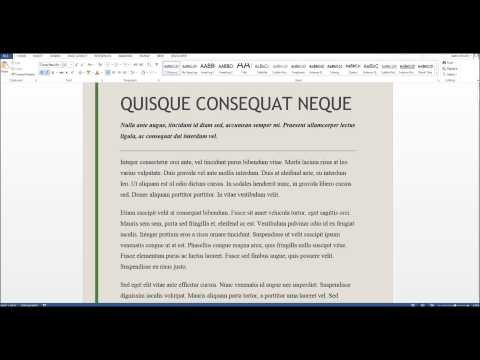 How To Get Rid Of A Horizontal Line In Word