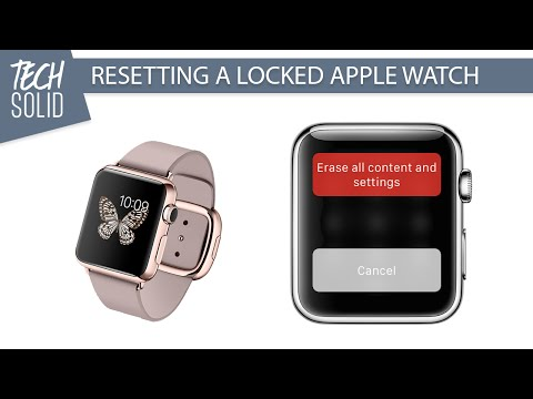 Resetting A Locked Apple Watch | Security Flaw