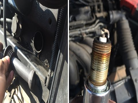 2006 Ford Fiesta 1.4 (Duratec Engine) Changing Spark Plugs
