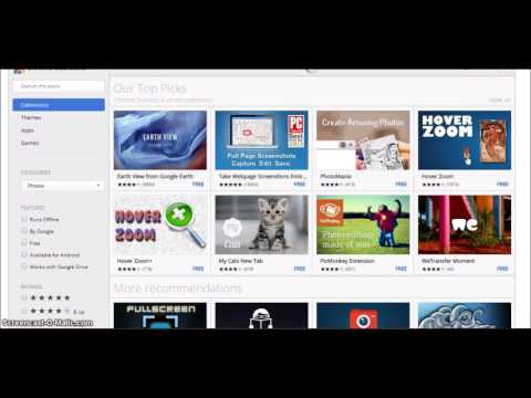 Video - How to add/remove/enable/disable extensions in Google Chrome-2017
