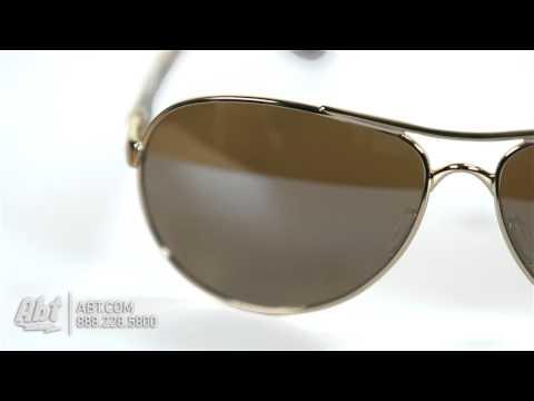 Oakley Feedback Gold Womens Sunglasses OO4079-04 - Overview