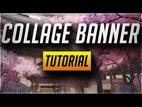 How to Make a COLLAGE BANNER in Photoshop CC/CS6!! - Tutorial Tuesday