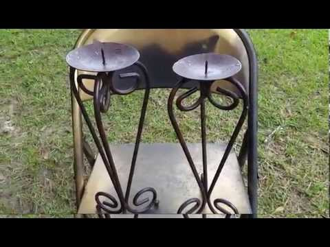 DIY: OLD TO NEW CANDLE HOLDERS