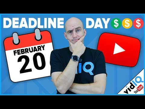 YouTube Monetization Deadline Day Is Here: What Happens Next?