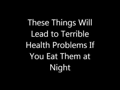 Top 4 Things To Avoid Eating At Night