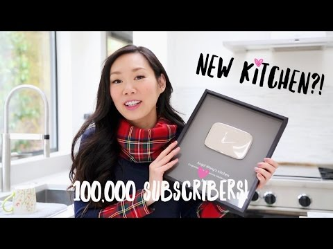 100K Subscribers ♥ New Kitchen & Channel Update!