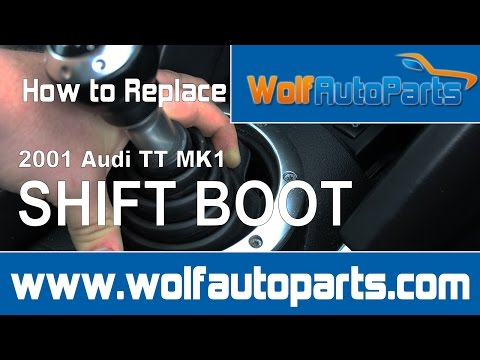How to Remove Shift Boot Audi TT