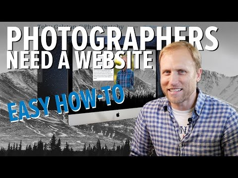 How to create a website // Photographers Need Their OWN website