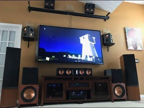 ((4K)) Dolby Atmos Blu-Ray Demo + Klipsch POWERFUL  Bundle