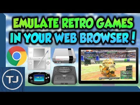 Emulate Retro Games In Your Web Browser! (N64/GBA/SNES/NDS)