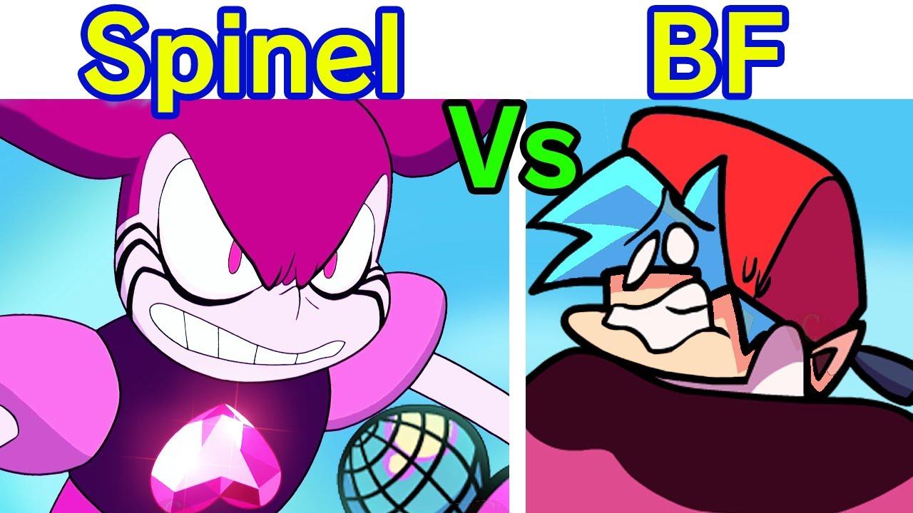 Friday Night Funkin' VS Spinel FULL WEEK + Cutscenes Animation HD (FNF Mod) (Steven Universe Movie)