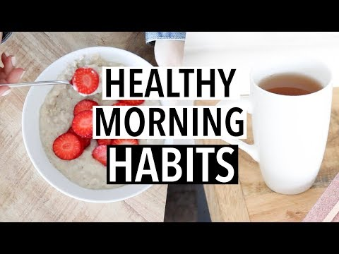 10 Easy Healthy Morning Routine Habits (#3 is a must try!)