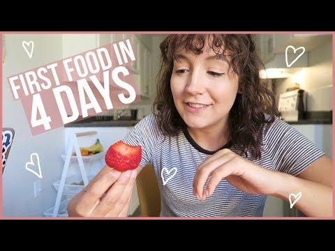 AFTER My Juice Fast (Re-Feeding, Weight Loss, etc.) TW: Eating Disorder | Every Day May!