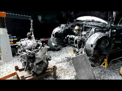 MINI Cooper S Engine + Transmission Removal (Clutch Rattle in Neutral Sound in this Video)