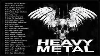 Iron Maiden, ,Metallica, Helloween, BlackSabbath - Heavy Metal Hard Rock Music 2021