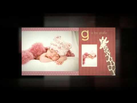 Newborn Baby Book Design