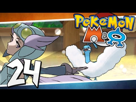 Pokémon Omega Ruby and Alpha Sapphire - Episode 24 | Fortree Gym Winona!
