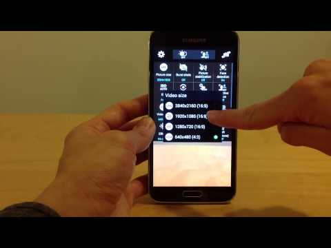 How to make Full HD 1080p Video on Samsung Galaxy S5