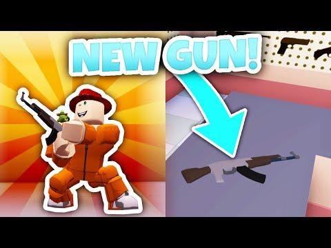 NEW AK-47 GUN UPDATE! (Roblox Jailbreak)