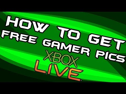 How to Get FREE Gamer Pics on XBOX LIVE [Tutorial] 2014