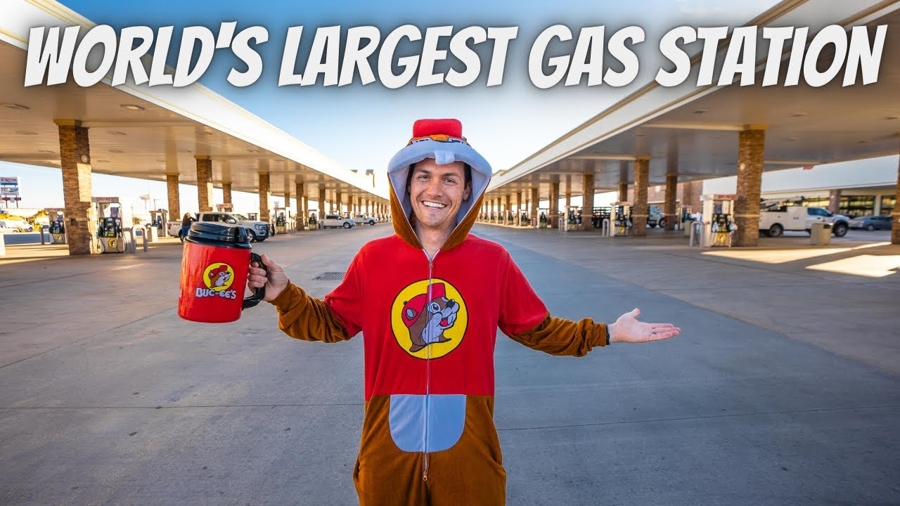 24 HOURS AT THE WORLD'S LARGEST GAS STATION (Buc-ee's)