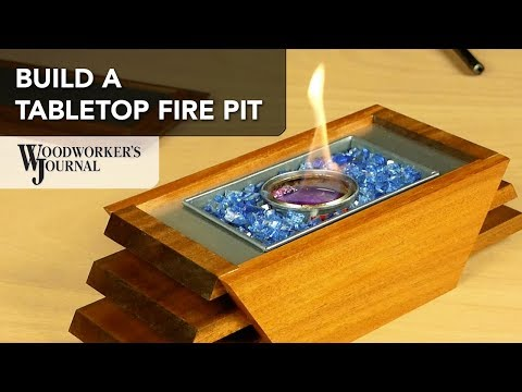 How to Assemble and Light the Tabletop Fire Pit Project