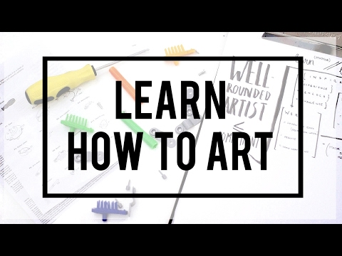 Get Better At Art · The (very) Basic Strategy · SemiSkimmedMin
