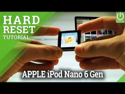 Hard Reset APPLE iPod Nano 6th Generation - Restore iPod /  Format