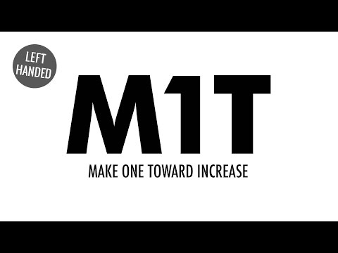 The Make One Toward Increase (M1T) :: Knitting Increase :: Left Handed