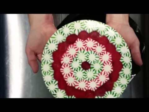 DIY Holiday Candy Trays