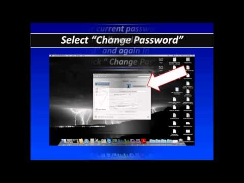 Changing AD Password on Mac Computer