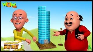 Motu Patlu Cartoons In Hindi | Animated cartoon | mobile tower | Wow Kidz