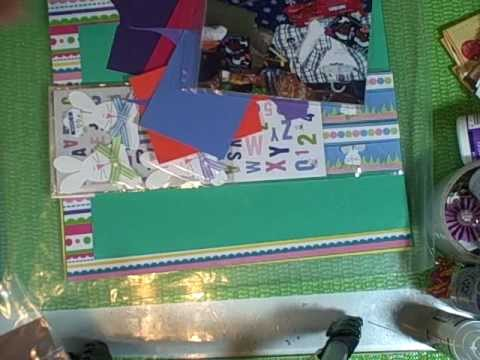 Make Your Own Scrapbook Page Kit