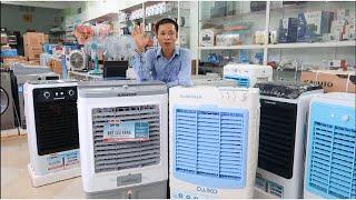 Đánh giá quạt điều hòa Sunhouse SHD 7739 và Daikiosan DKA 4500C