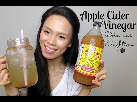 Apple Cider Vinegar Drink | clear skin, lose weight, fight fatigue
