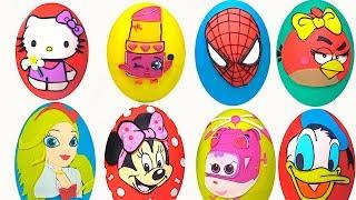 25 Dev Srpriz yumurta ayoruz canl yaynda Shopkins Maa Disney Harika Kanatlar srpriz yumurta