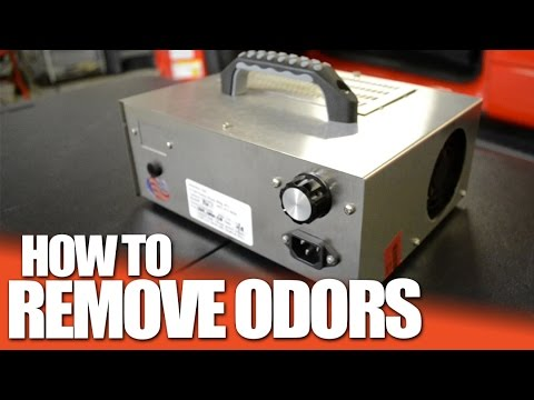 How to Get Rid of Odors