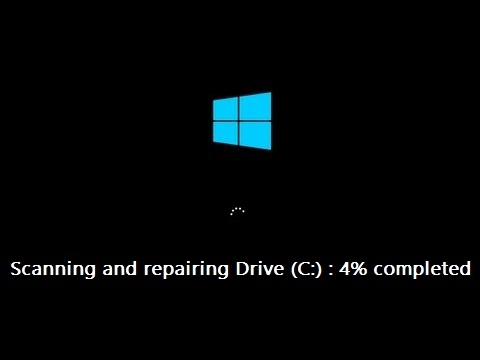 How to Disable Scanning and Repairing Drive (C) in Every time Windows 10 Start